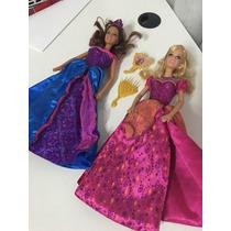 Boneca Barbie Princesas Castelo De Diamante