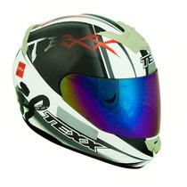 Capacete Texx Bravo Assert Duas Viseiras Honda Yamaha Suzuki