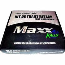 Kit Relação Maxx Para Ninja 250 Kallu Motos