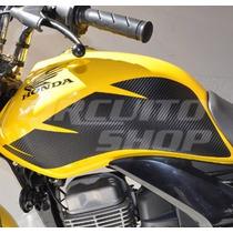 Protetor De Tanque Lateral Cut Honda Titan Fan 150 Ano 10-13