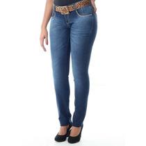 Calça Sawary Jeans Legging Feminina Com Cinto Oferta !!!!!!!