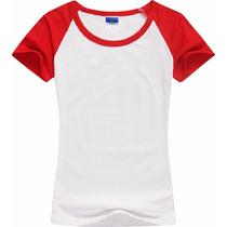 Camiseta Raglan,camisa Raglan, Barato,duas,cores,bonita, Boa