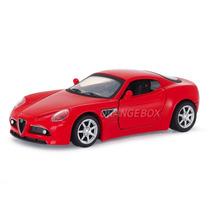 Alfa Romeo 8c Competizione New Ray 1:32 Vermelho 3426-3