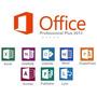 Cartão Chave Microsoft Office Professional 2013 Plus