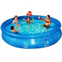 Piscina Inflável Splash Fun Mor 7800 Litros Lona Kit Reparo