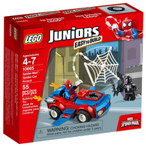 Lego Juniors Spider-man: Ataque Do Carro Aranha 10665