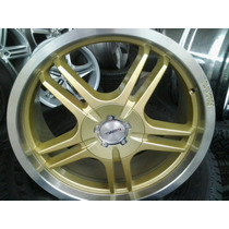 Roda Aro 17 Kromma Dourada Bronze Peugeot Citroen Ford Jogo