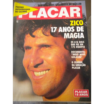 Revista Placar Zico 17 Anos De Magia Sem Poster Londrina