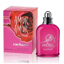 Perfume Amor Amor In A Flash Feminino 100ml Eau De Toilette