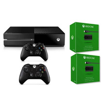 Novo Console Xbox One Com 2 Controles Mais 2 Carregadores