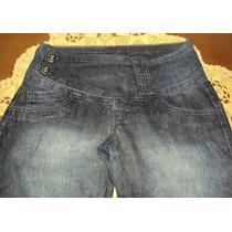 Linda Calça Em Jeans Com Lycra Cintura Baixa Skinny Linda Z