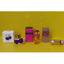 Kit Miniaturas Perfume Importado Feminino.original + Brinde.