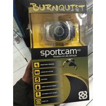Burnquist Sportcam Filmadora Em Alta Definicao