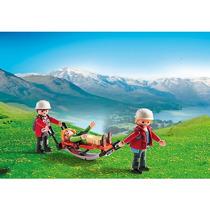 Playmobil Country Equipe Resgate Da Montanha Com Maca 5430