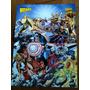 5 Posters De Heróis Da Marvel Raros Da Revista Wizard