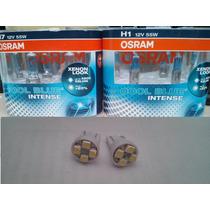 Lampada Osram Cool Blue Intense Kit H7 H1 + Pingão Led