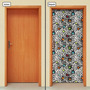 Adesivo Decorativo De Porta - Abstrato - 932mlpt