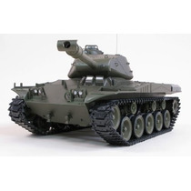 Tanque De Guerra Controle Remoto Us M41a3 Completo No Brasil