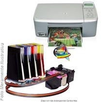 Bulk Ink Para Impressora Hp 1610 Com Presilhas Especiais