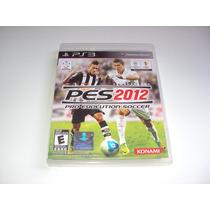 Pes 2012 Pro Evolution Soccer Original Completo Playstation3
