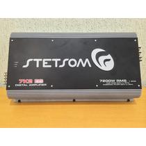 Modulo Stetsom 7.k2 7200w Amplificador Digital Mono