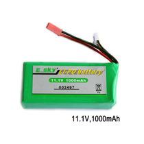 Bateria Lipo 3s 11.1v 1000mah E-sky 002497 Honey Bee Cp3