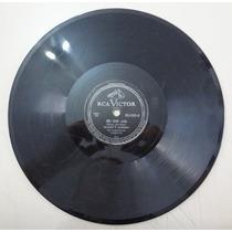 Disco 78 Rpm -silveira E Barrinha -victor80-2110