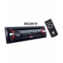 Toca Cd Sony Cdx-g1170u Am/fm Mp3 Usb Lançamento 2016 4 Rca