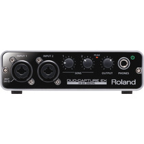 Interface De Audio Roland Ua22 Duo Capture Ex 1651