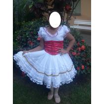 Fantasia De Bailarina Vestido De Camponesa