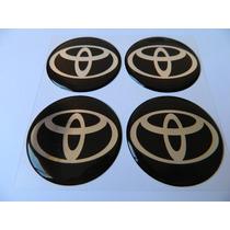 Adesivo Resinado De Calota Toyota