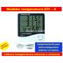 Medidor Temperatura E Umidade Htc-2 - Pronta Entrega!!