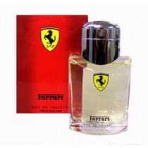 Perfume Ferrari Red Masculino 125ml Original Made In Italy