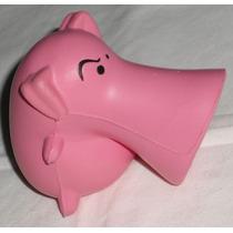 Porco Rosa Toy Art Promocional Macio 7cm Source Fire Snort