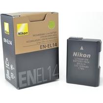 Bateria En-el14 Nikon - Realmente Original D3200 D5500 Etc..