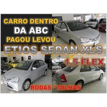 Toyota Etios 1.5 Xls Sedan Ano 2014 - Financiamento Facil