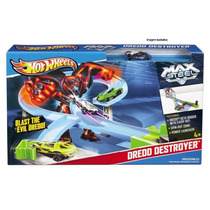 Pista Hot Wheels Max Steel Contra Dredd Mattel