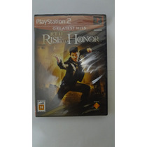Jogo Rise To Honor Para Ps2 (greatest Hits) - Novo E Lacrado