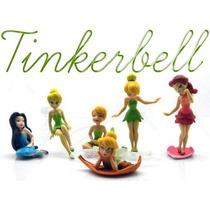 Coleção Miniaturas Tinkerbel Disney - 06 Peças