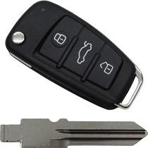 Chave Canivete Audi Alarme Positron 300 + Lamina Fiat Tempra