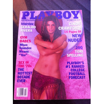 Playboy Importada Cindy Crawford Deusa Nua Miss Laura Journe
