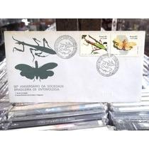 50° Aniversario Sociedade Entomologia Envelope Selos 1a.via