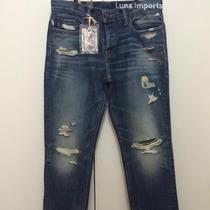 Calça Jeans Skinny Masculina Tam 42 Abercrombie Hollister