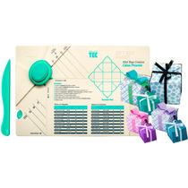 Furador Scrapbook Caixa Presente E Base Corte E Vinco Toke