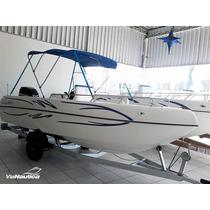 Lancha Fly Fish 170 Full Motor Mercury 90 Hp 4t Montada