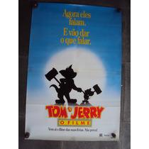 Cartaz Tom Jerry O Filme Poster Fotgrafia Desenho