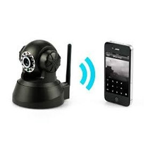 Camera Ip Wireless Wi-fi Visão Noturna Iphone, Android, Comp