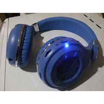 Fone De Ouvido Sem Fio-cartão Memória-bluedio-bluethoth-azul