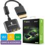 Cabo Adaptador Audio Conexão Av Para Consoles Hdmi Xbox 360