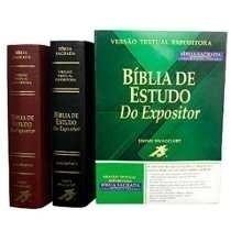 Bíblia Do Expositor Frete Grátis - Sem Juros Preta